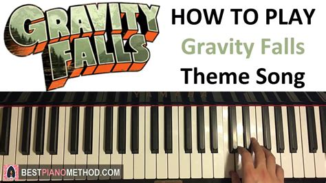 how to play piano a beginnerã s guide to learning the keyboard and techniques books how to play gravity falls theme song piano tutorial