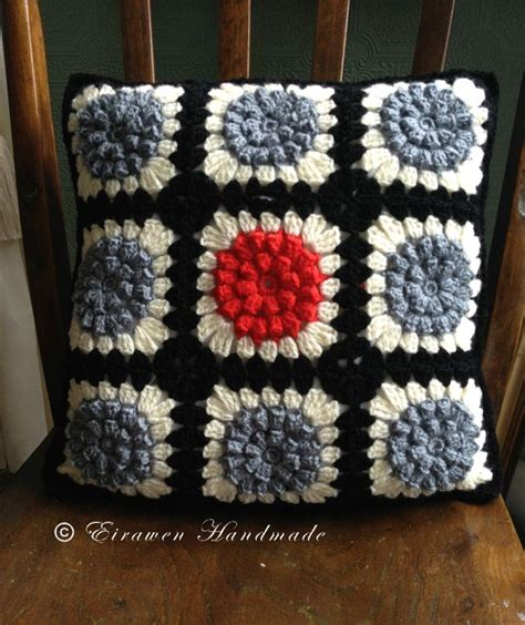 japanese pattern cushions crochet granny square cushion japanese style 163 18 00