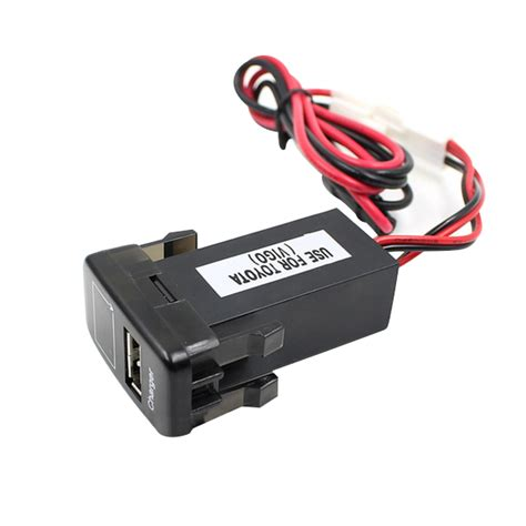 car battery charger voltage jz5002 1 jiazhan car battery charger 2 1a usb port with
