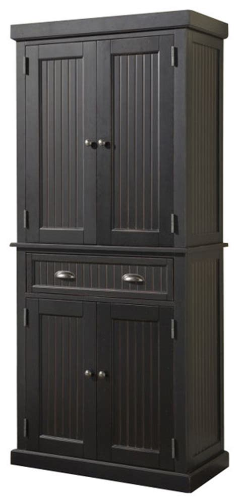 home styles nantucket pantry distressed black modern 301 moved permanently