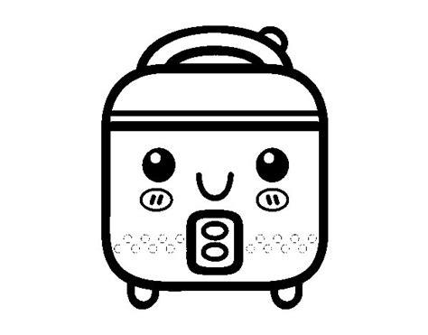 dibujos de cocina para colorear dibujo de robot de cocina para colorear dibujos net