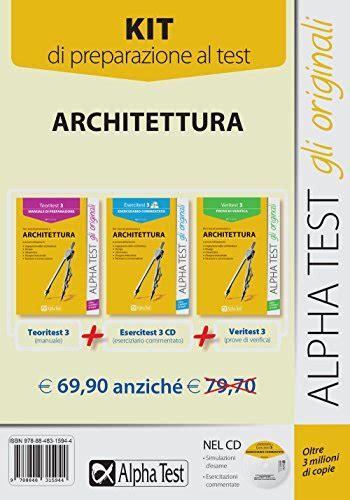 simulazione test ingresso architettura catalogo architettura libri test ingresso e concorsi
