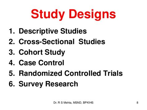 descriptive cross sectional study 3 types of research study