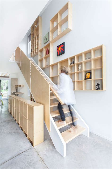 staircase shelf 12 inspiring exles of staircases with bookshelves