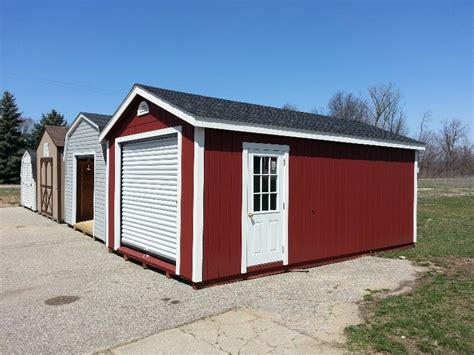 Garage Packages Home Depot by Edim Wood Storage Shed Dealers In Michigan