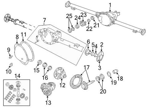 Dodge Ram 1500 Rear Axle Diagram