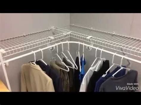 Closetmaid Superslide Installation by How To Install A Closetmaid Superslide Corner Hang Bar