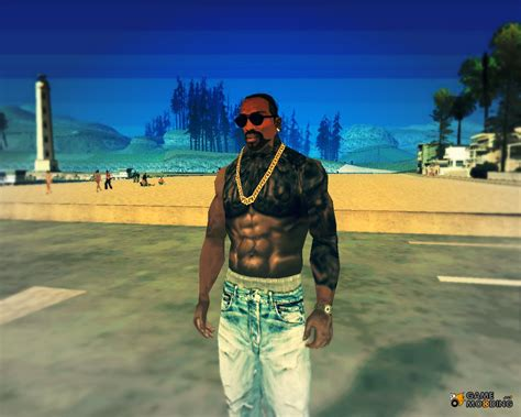 cj tattoo maori for gta san andreas