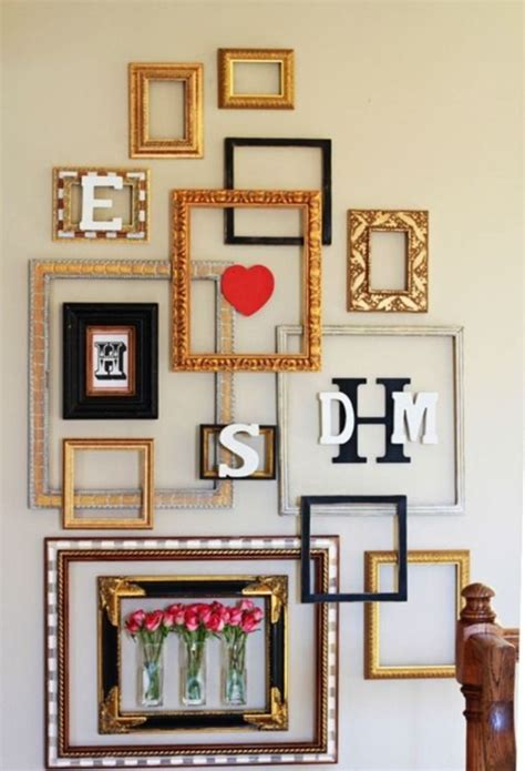 creativity in home decoration 40 creative frame decoration ideas for your house page 3