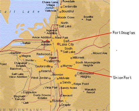 map salt lake city surrounding area salt lake city