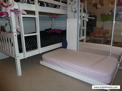 ana white toddler trundle bed diy projects
