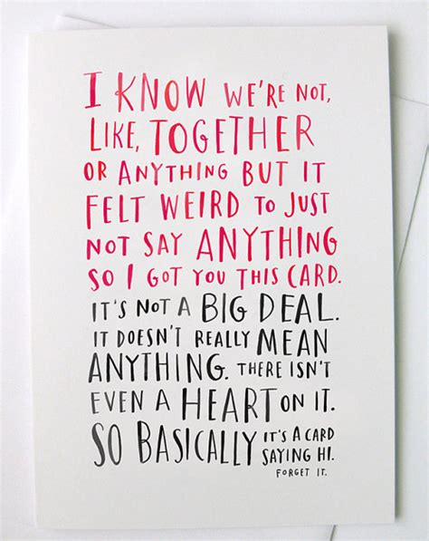 things to say in a valentines card thinking of a valentines day card for your crush