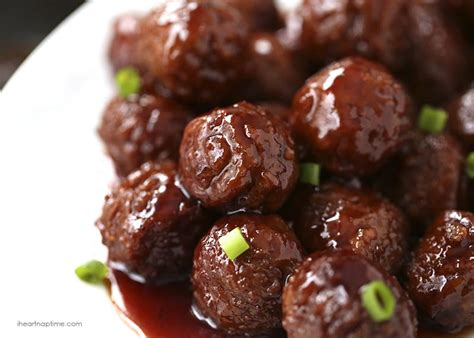 crock pot grape jelly bbq meatballs only 3 ingredients