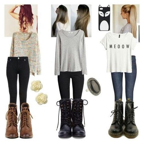 cute comfy outfits boots simple dream closet pinterest