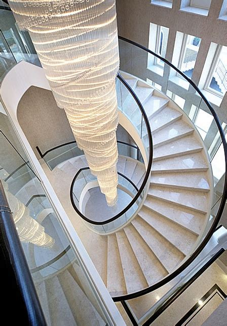 spiral staircase lighting ideas floating marble staircase architecture pinterest
