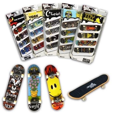 teck deck 10 awesome finger skateboards with tricks skateboarder