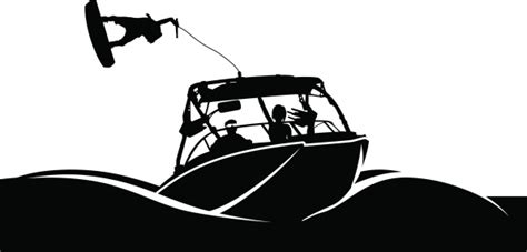 wake boarding clipart clipground - Wakeboard Boat Clipart