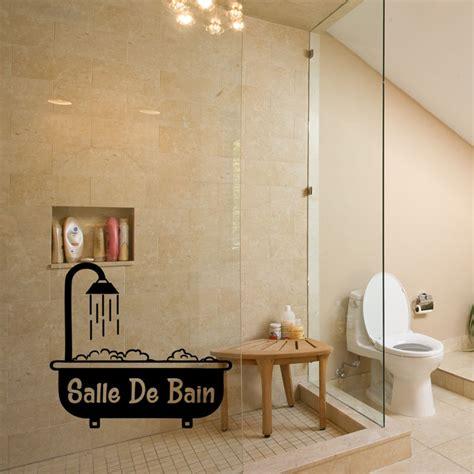 stickers baignoire sticker porte salle de bain baignoire avec mousse
