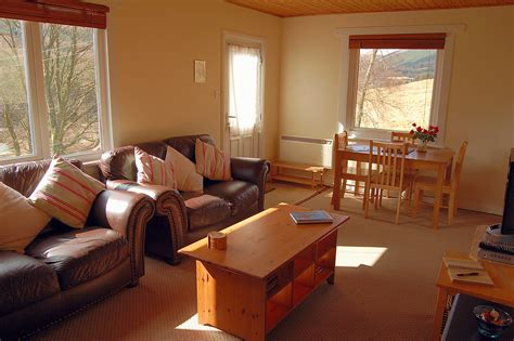 lodge living room lodge living room self catering tyndrum glengarry house