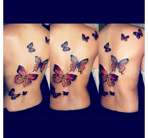 butterfly back tattoos butterfly back this inkedgirls