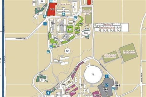 nau map maps northern arizona