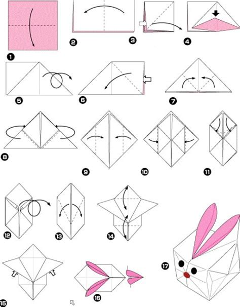 How To Make Rabbit From Paper - origami rabbit box origami