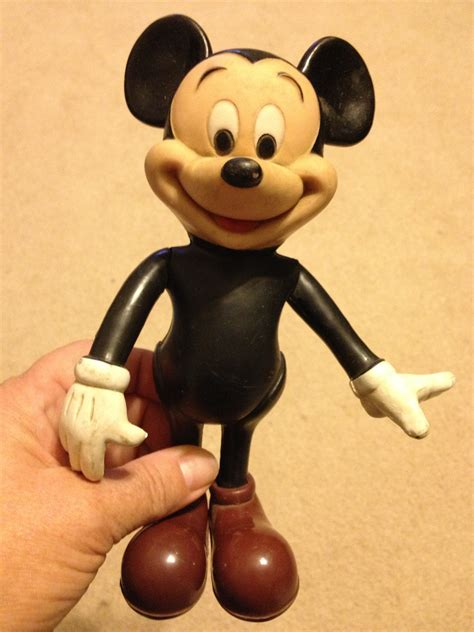 mickey mouse rubber st vintage mickey mouse rubber doll by abmdam on etsy