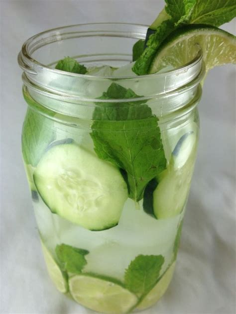 Detox Water 1 Gallon by Best 25 Mint Water Ideas On Lemon Mint Water
