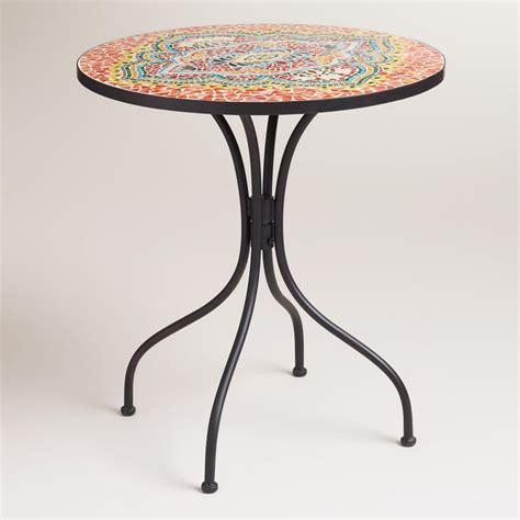 medallion cadiz mosaic bistro table for the home