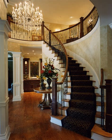foyer in a house foyer photos of custom house plans by studer residential