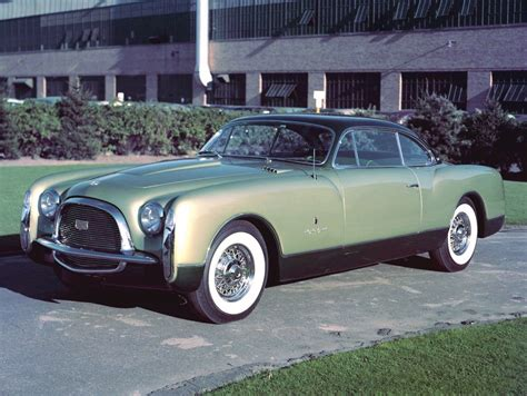 Ford And Chrysler by 1953 Chrysler Special Ghia Studios