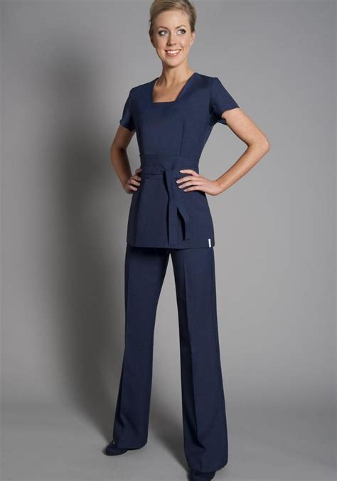 salon uniforms great colour alternative to black florence roby