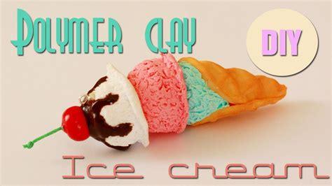 zbrush ice cream tutorial polymer clay ice cream cone tutorial youtube
