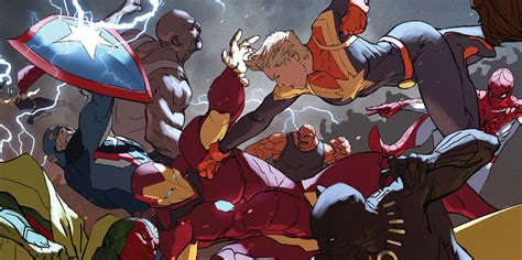 civil war ii 1302901567 marvel s civil war ii reveals a grim future for two avengers