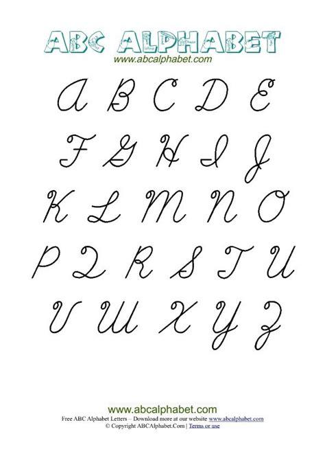 cursive letters chart the 25 best cursive letters chart ideas on