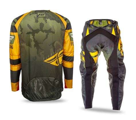 camo motocross gear fly racing new 2016 mx evolution orange green camo