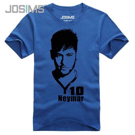 T Shirt Neymar White neymar da silva santos junior t shirt neymar jr brazil jersey t shirt 100 cotton hip hop
