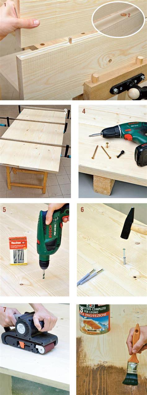 costruire un tavolo da giardino costruire un tavolo da giardino bricoportale fai da te