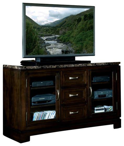 10 inch deep console cabinet standard furniture bella 58 inch tv console in deep brown