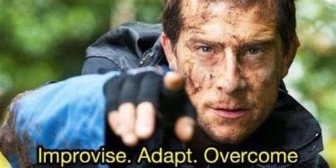 Bear Grylls Memes - bear grylls memes adapt improvise overcome on the internet