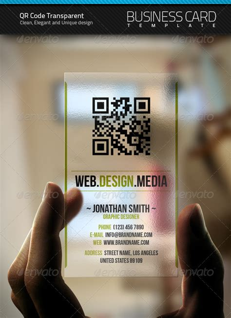 business card with qr code template 40 epic qr code
