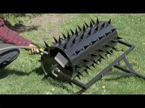 strongway drum spike aerator inw  spikes youtube