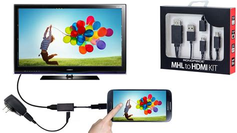 converter mobile convert your mobile screen into tv screen from mhl cable