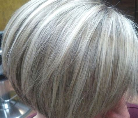 Images Of Utra Short Grey Hair With Lowlights | lowlights for gray google search hair pinterest