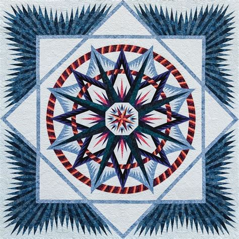 Compass Quilt Pattern by 17 Best Images About Ny Mariners Compass On