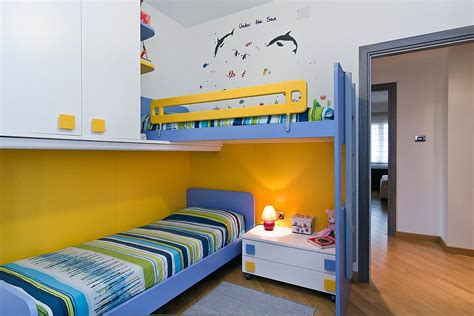 space saving beds for kids trendy and timeless 20 kids rooms in yellow and blue