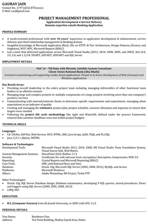 software developer resume sample resume badak