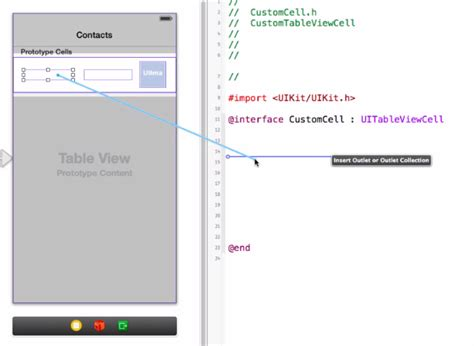 adsense xcode ios custom table view cell uitableview exle