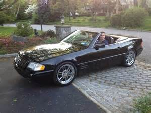Mercedes Sl320 For Sale 1997 Mercedes Sl320 Convertible Clean Black Auto 9 5k