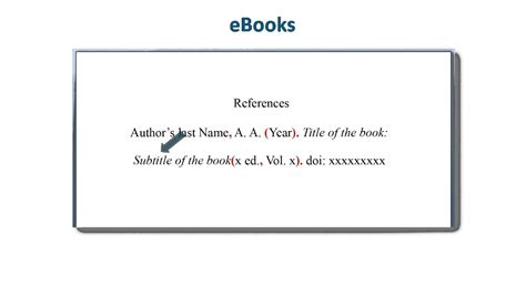 how to do it ebook apa style reference list how to reference ebooks